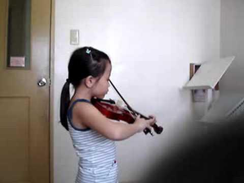 Twinkle Twinkle Little Star (Suzuki Violin)