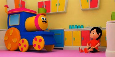 Bob The Train | Johny Johny Yes Papa | 3D Nursery Rhymes For Childrens by Bob The Train