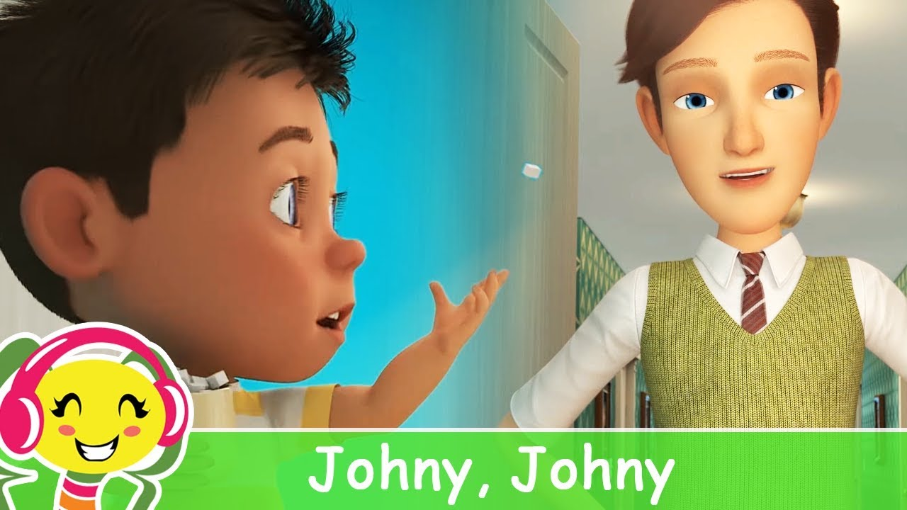 Johny Johny Yes Papa in romana si engleza – Cantece pentru copii