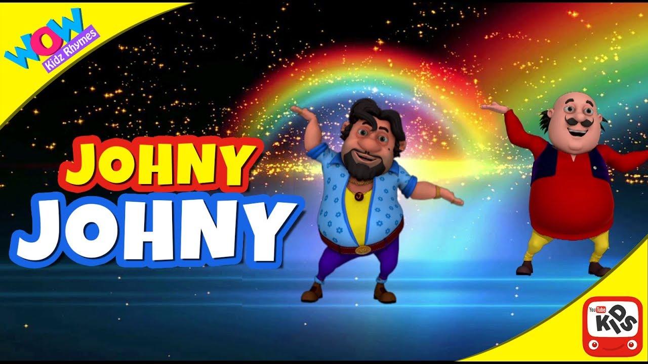 Johnny Johnny – Yes Papa | Motu Patlu I Wow Kidz Rhymes