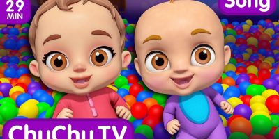 Johny Johny Yes Papa Ball Pit Show – ChuChu TV 3D Baby Songs & Nursery Rhymes for Kids