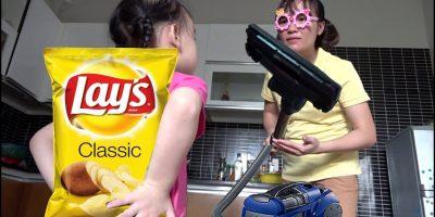 Misa and Mommy Pretend Play Johny Johny yes papa – Family fun for kids