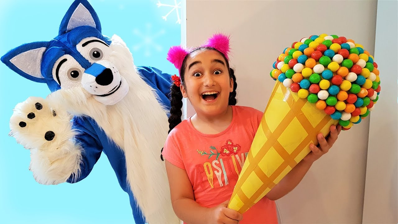 Johny Johny Yes Papa Nursery Rhymes Song, Learn Colors With, Easter Egg and Ice Cream