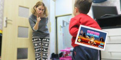 Johny Johny Yes Papa | Alex Vrea sa Se Joace in Jocuri! | Kids Video Pentru Copii