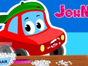 Johny Johny yes papa | Car Rhymes For Kids
