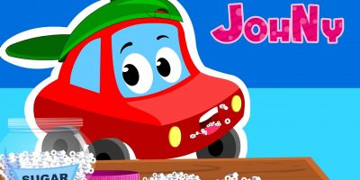 Johny Johny yes papa | Car Rhymes For Kids