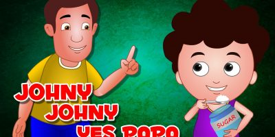 Johny Johny Yes Papa | Nursery Rhymes with Lyrics |Cartoon Animation English Nursery rhyme