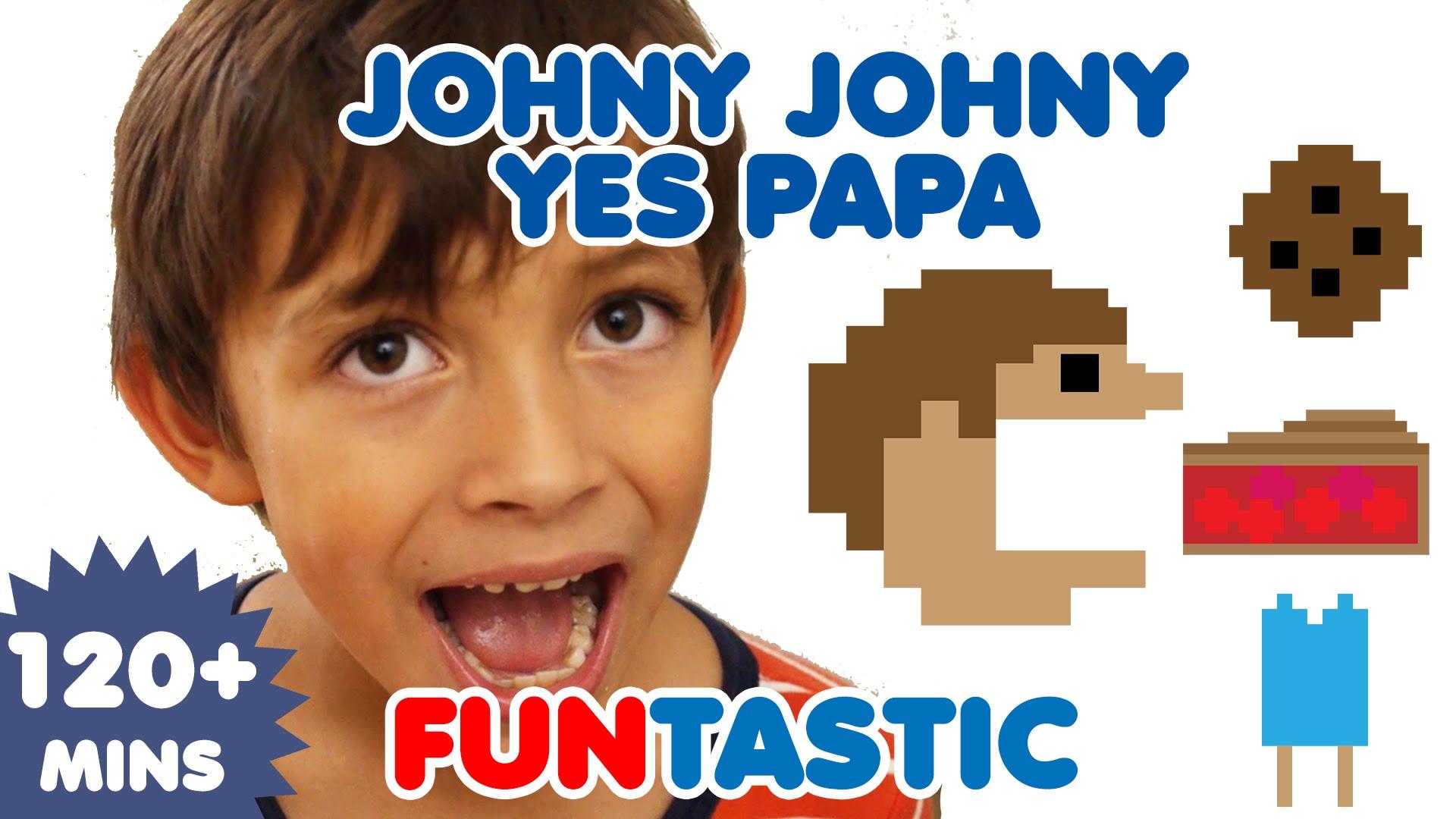 Johny Johny Yes Papa  | Nursery Rhymes | Kids Songs | FUNtastic TV