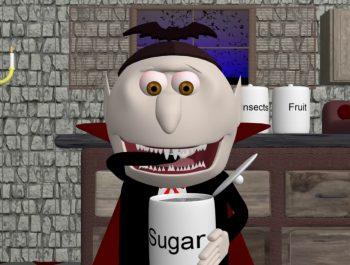 Johnny Johnny yes papa (Halloween Vampire) – EdukayFUN