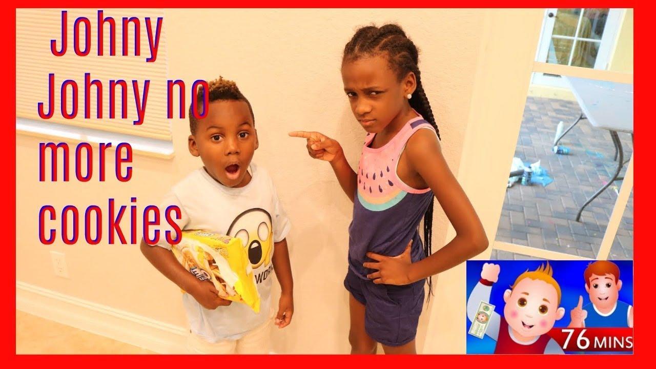 Johny Johny Yes Papa Dj Eating Cookies- Johny Johny Yes Papa Nursery Rhymes For Kids And Songs