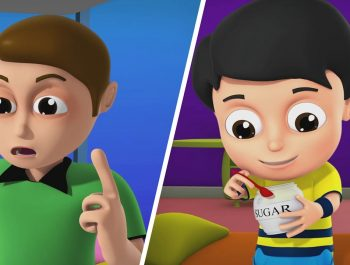 Johny Johny Yes papa | 3D nursery Rhymes | Kids Songs