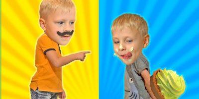 Johny Johny Yes Papa Nursery Rhymes Song / Vlad & Oleg