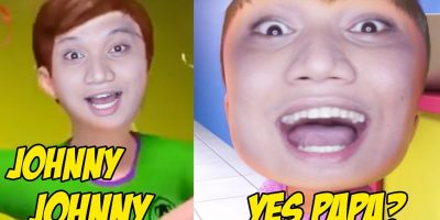 JOHNNY JOHNNY YES PAPA PINOY CRINGE VERSION