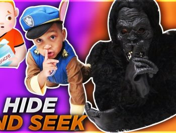 Johny Johny Yes Papa Halloween Hide And Seek | DJ's Clubhouse