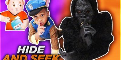 Johny Johny Yes Papa Halloween Hide And Seek | DJ's Clubhouse