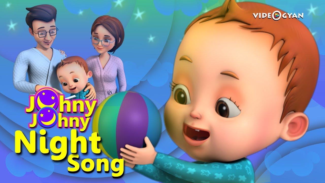 Johny Johny Yes Papa – Night Song | Baby Ronnie | Nursery Rhymes Kids Songs | Johnny Johnny