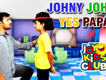 Johny Johny Yes Papa | Nursery Rhyme With Live Characters | Joy Kids Club | 2017