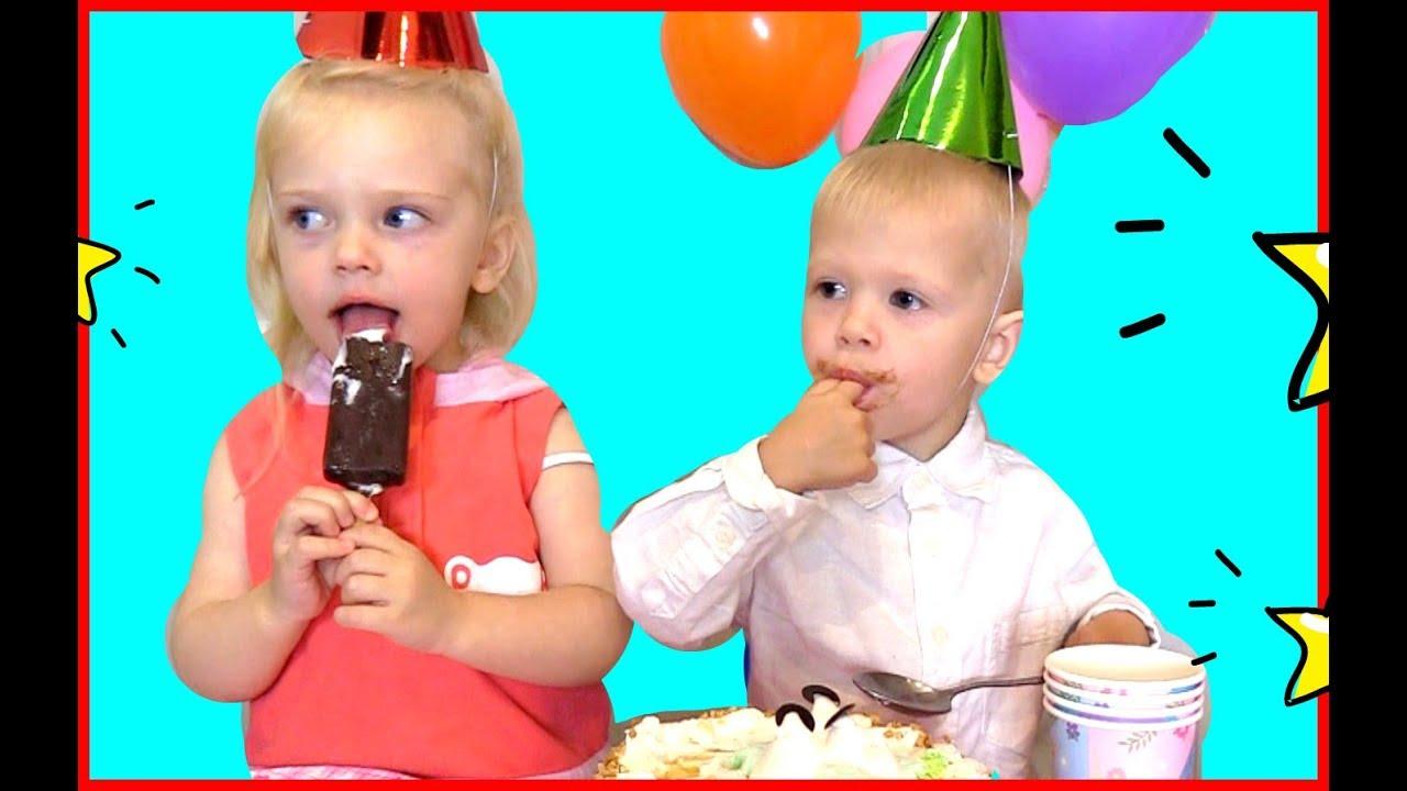 JOHNY JOHNY Yes papa ! Happy Birthday version* Video for kids