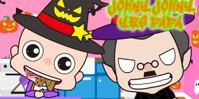 Johny Johny Yes PaPa Little Babies Halloween   Children Nursery Rhyme   Kids Songs   Baby Puff Puff