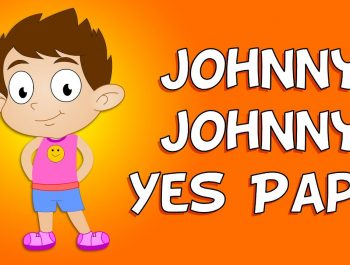 Johnny Johnny Yes Papa Nursery Rhyme | Nursery Rhymes For Children
