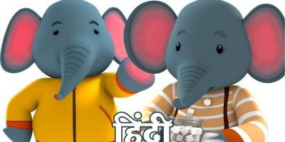 Johnny Johnny Yes Papa 3d Rhymes In Hindi | हिन्दी कविता | Hathi Cartoon Song by Fun For Kids TV