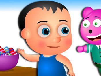 gummy bear and little baby johny johny yes papa nursery rhymes for kids & Children's Cartoons