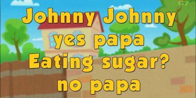 Karaoke Rhymes – Johnny Johnny Yes Papa | Nursery Rhymes And Videos by Kids Tv