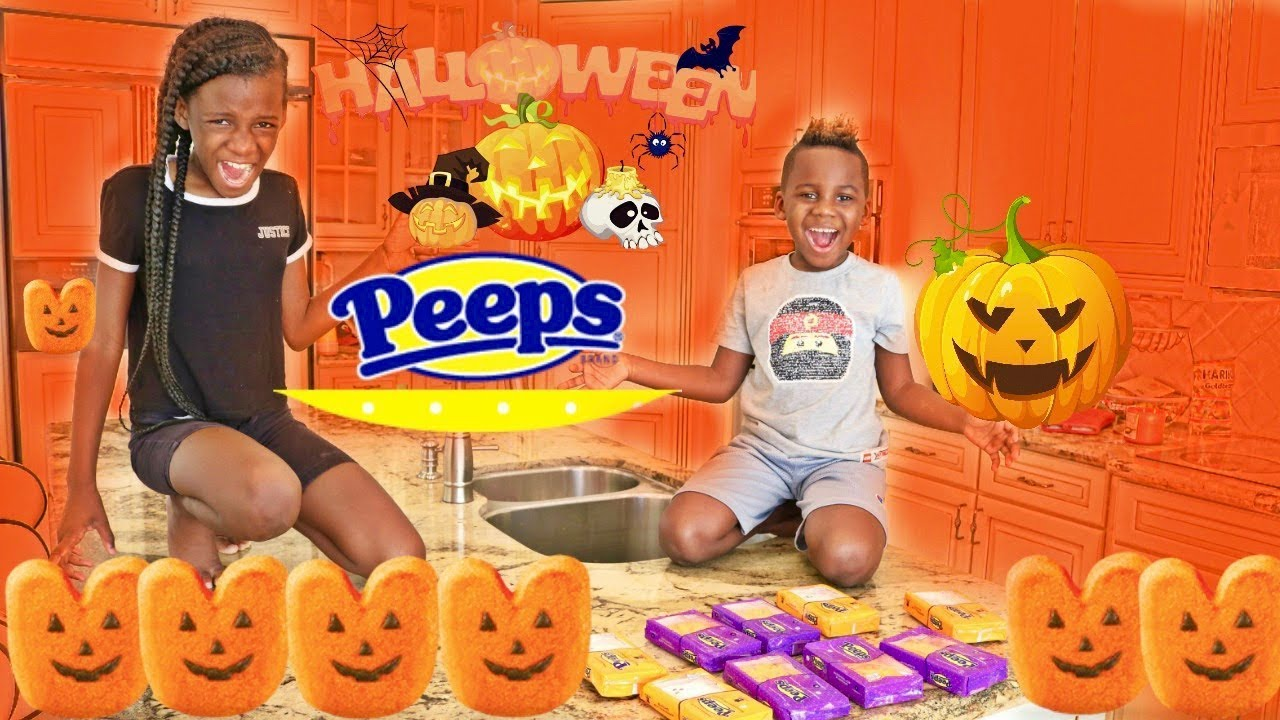 Johny Eats Halloween Peeps Johny Johny Yes Papa!! Johny Johny Yes Papa Nursery Rhyme Songs!!