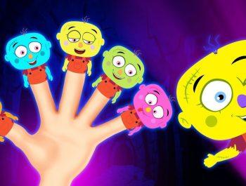 Johny Johny Yes Papa | Funny Spooky Halloween Nursery Rhymes & Finger Family Songs For Babies