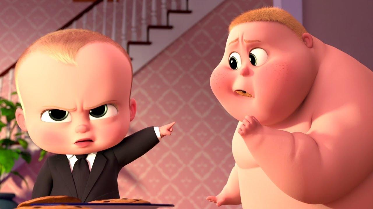 Johnny Johnny Yes Papa | Baby Boss | Nursery Rhymes | Animated Cartoon Remix
