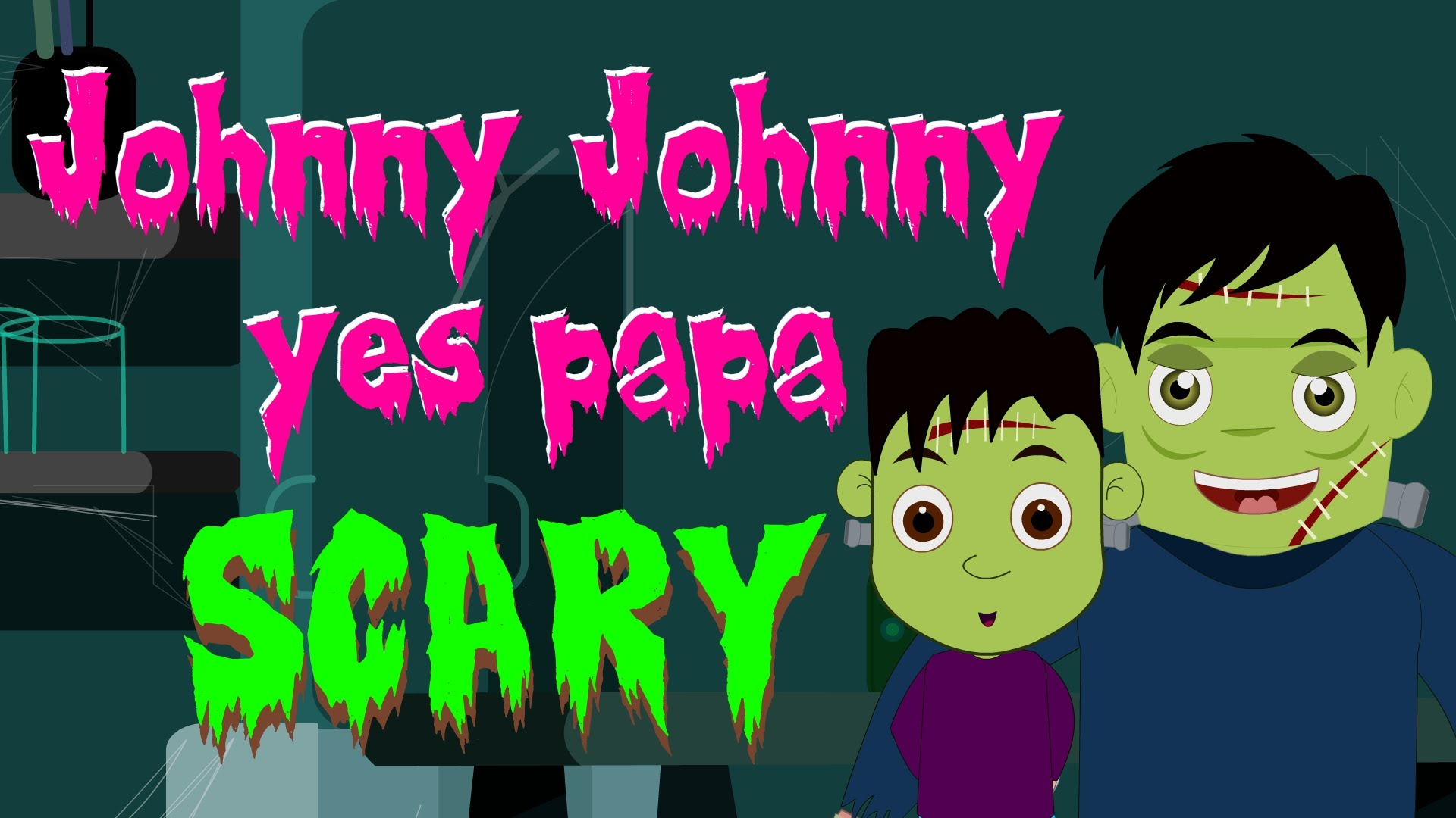 Johnny Johnny Yes Papa | Scary Rhymes | Spooky Nursey Rhymes | Halloween Rhymes