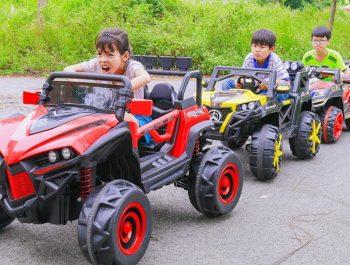 Kids Play drive Truck Rescue Green Car! Kids johny johny yes papa Song Children