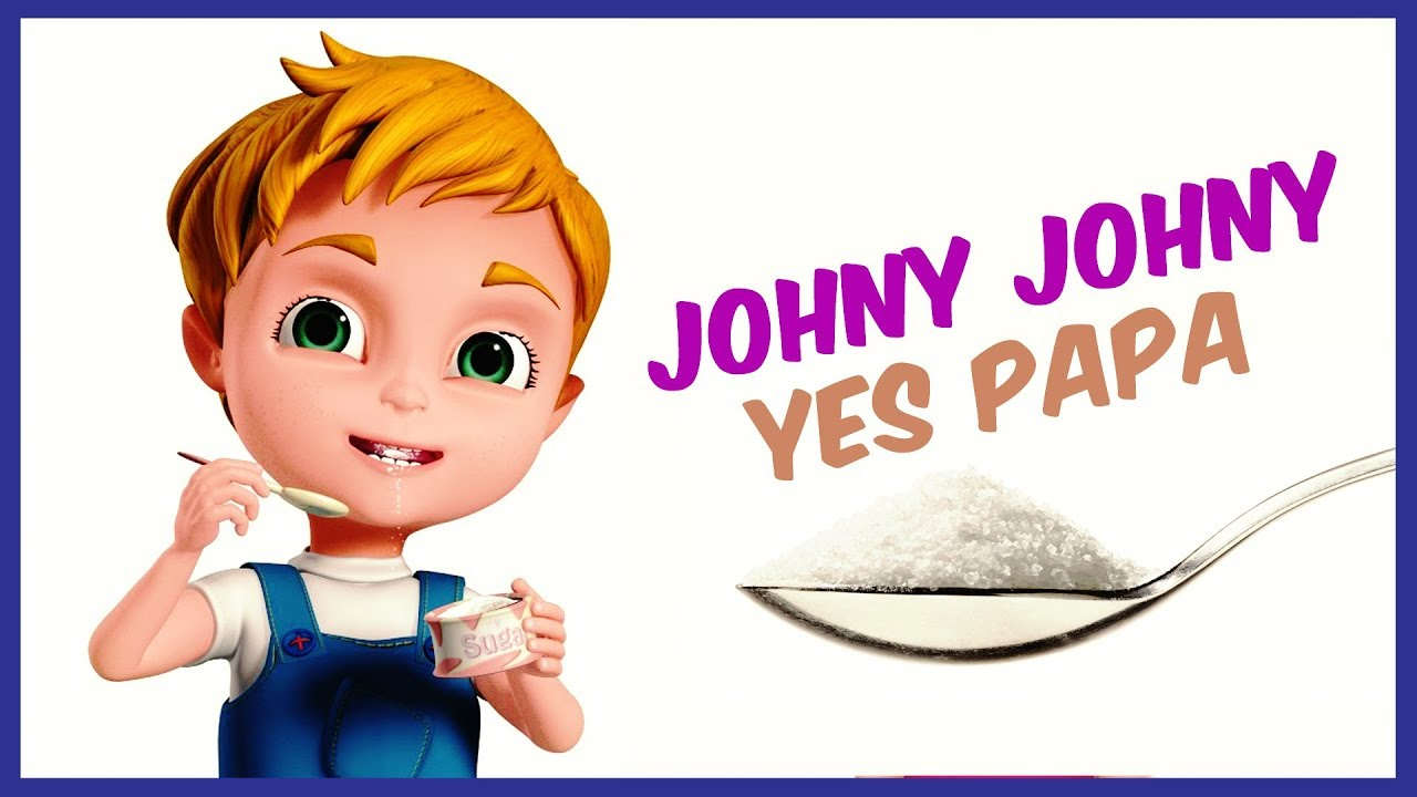 Johny Johny Yes Papa | Rhyme4Kids