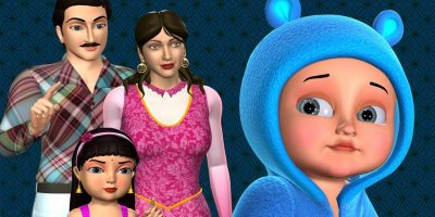 Johny Johny Yes Papa Family Version – 3D Animation Nursery Rhymes & Songs For Children