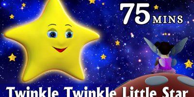 Twinkle Twinkle Little Star Nursery Rhyme – Kids Songs – 3D Animation Rhymes for Children
