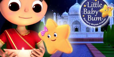 Twinkle Twinkle Little Star | Part 3 in India | Nursery Rhymes | by LittleBabyBum!