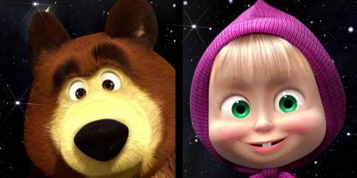 Masha and the Bear Twinkle Twinkle Little Star Super nursery Rhyme