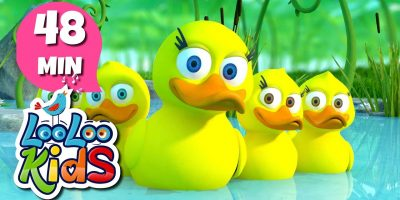Five Little Ducks – THE BEST Nursery Rhymes and Songs for Children | LooLooKids