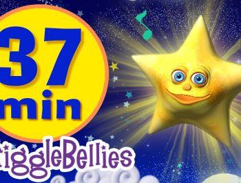 Twinkle Twinkle Little Star | 11 More Lullabies & Nursery Rhymes | Giggle Bellies