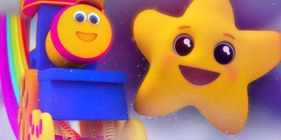 Bob The Train – twinkle twinkle little star | nursery rhymes | kids songs | 3d rhyme | Bob Cartoons