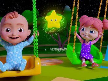 Twinkle Twinkle Little Star Song   Nursery Rhymes & Children Songs   HappyKidsTV
