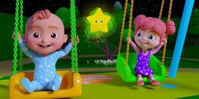 Twinkle Twinkle Little Star Song | Nursery Rhymes & Children Songs | HappyKidsTV