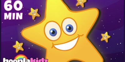 Twinkle Twinkle Little Star | Popular Nursery Rhymes Songs | HooplaKidz