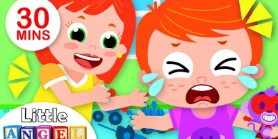 Feelings Song | Twinkle Twinkle Little Star + More Nursery Rhymes | Little Angel