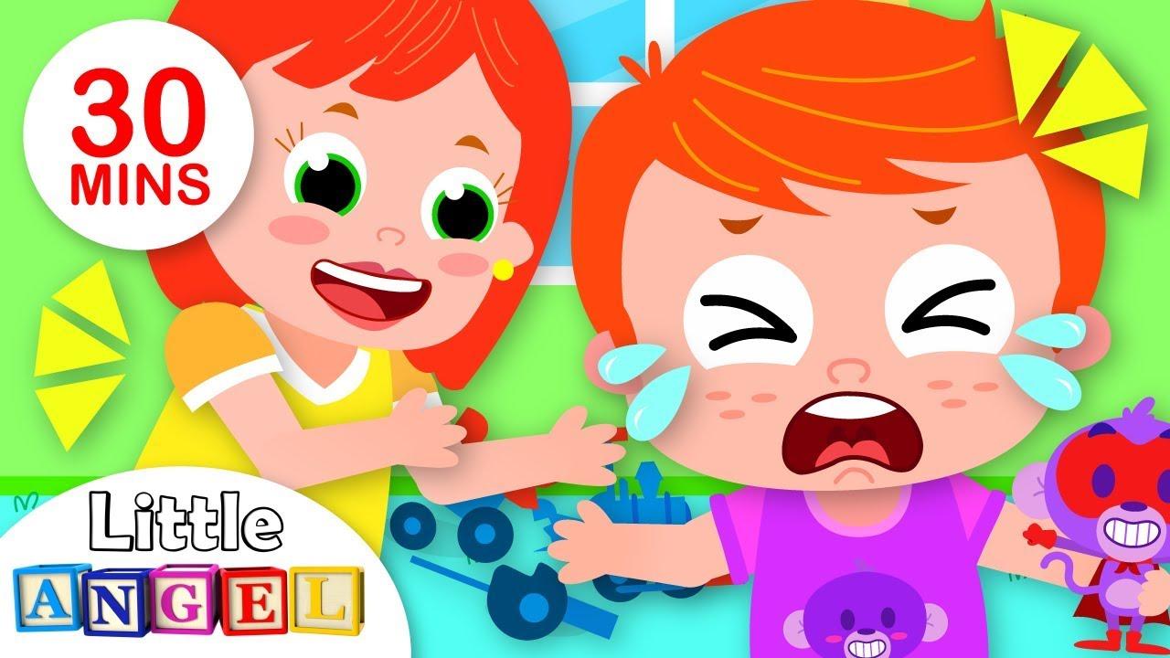 Feelings Song | Twinkle Twinkle Little Star + More Nursery Rhymes | Little Angel