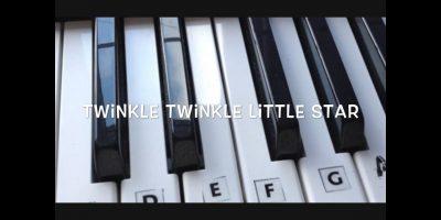 Twinkle Twinkle Little Star – Step by Step Keyboard Tutorial For Beginners