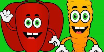 Chanson des légumes pour enfants – Musique de comptine – Twinkle Twinkle Little Star
