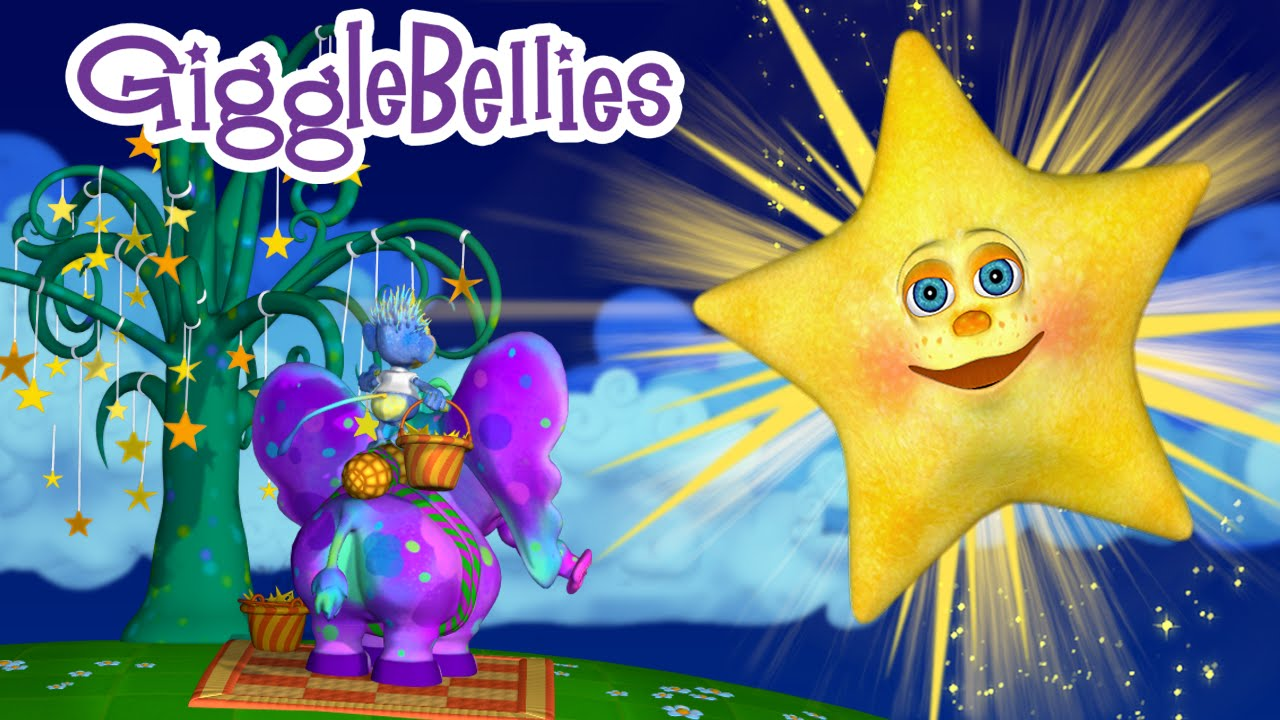 Twinkle Twinkle Little Star   Full Version in HD   The GiggleBellies