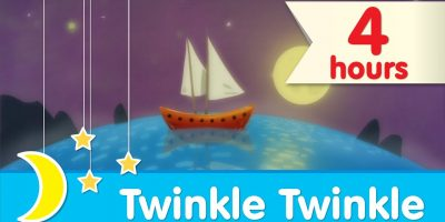 ? 4 HOURS ?  | Twinkle Twinkle Little Star Piano Lullaby to Help Babies Sleep | Super Simple Songs