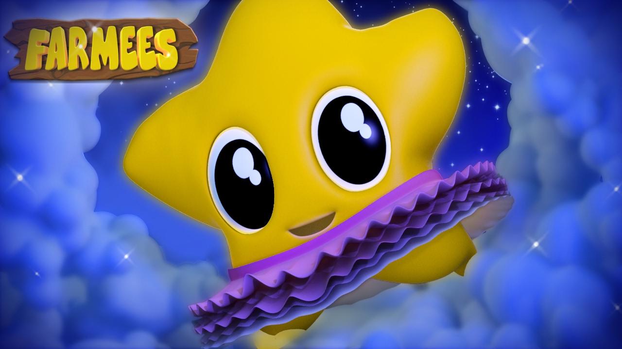 Twinkle Twinkle Little Star | Nursery Rhymes | Kids Songs | Children's Videos by Farmees